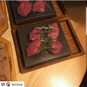 вулканические камни для жарки мяса